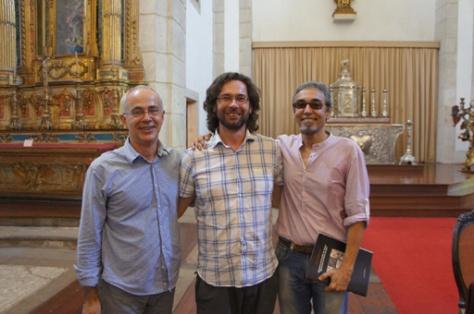 Eugênio Lins, Flavio Marzadro e Luiz Cardoso (27/02/2013) II Mesa do Ciclo de debates A influência do Concílio de Trento na Cultura Brasileira