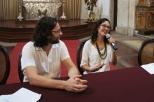 Neila Maciel (UFRB, palestrando, com Flavio marzadro, mediador