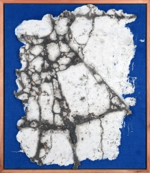 Flavio Marzadro - Mappa provisoria - Verona 2010 - 70x60cm peq