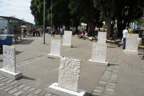 Flavio Marzadro ♦ Praça das mãos ou mercado do ouro? ♦ Salvador, 2013