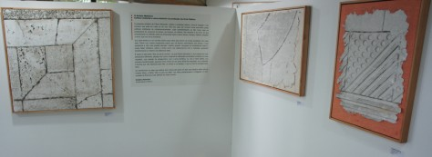 The exhibition at the Museum of Geology of Bahia, Brazil
