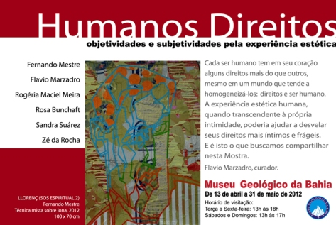 Poster of Humanos Direitos Cellective Exhibition (2012)