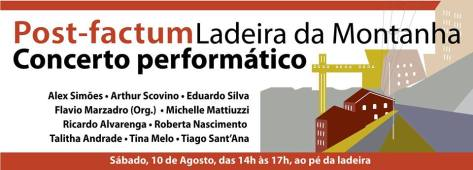 Post Factum ladeira da Montanha - cartaz